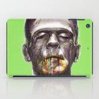 frankenstein iPad Cases featuring Frankenstein by beart24