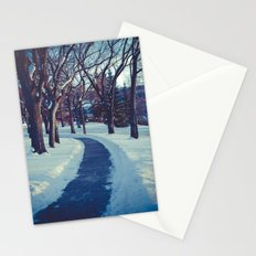 A long & winding road Stationery Cards