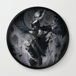 Elemental Goddess of Earth Wall Clock