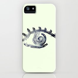HypnotEyez iPhone Case