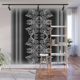 Abstract floral background Wall Mural