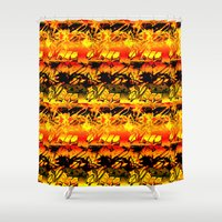 africa Shower Curtains featuring Africa. by Assiyam