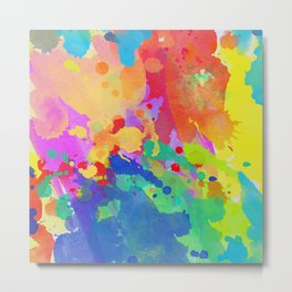 colour 10 Metal Print