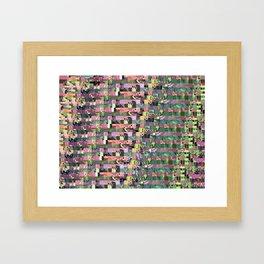 Pattern Test II-B Framed Art Print