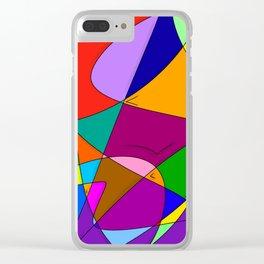 mmmmm Clear iPhone Case