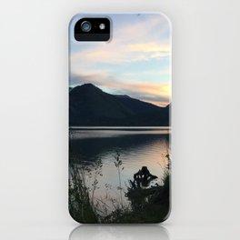 Tetons at Dawn iPhone Case