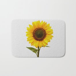 Sunflower Still Life Bath Mat