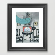 Atlar Framed Art Print