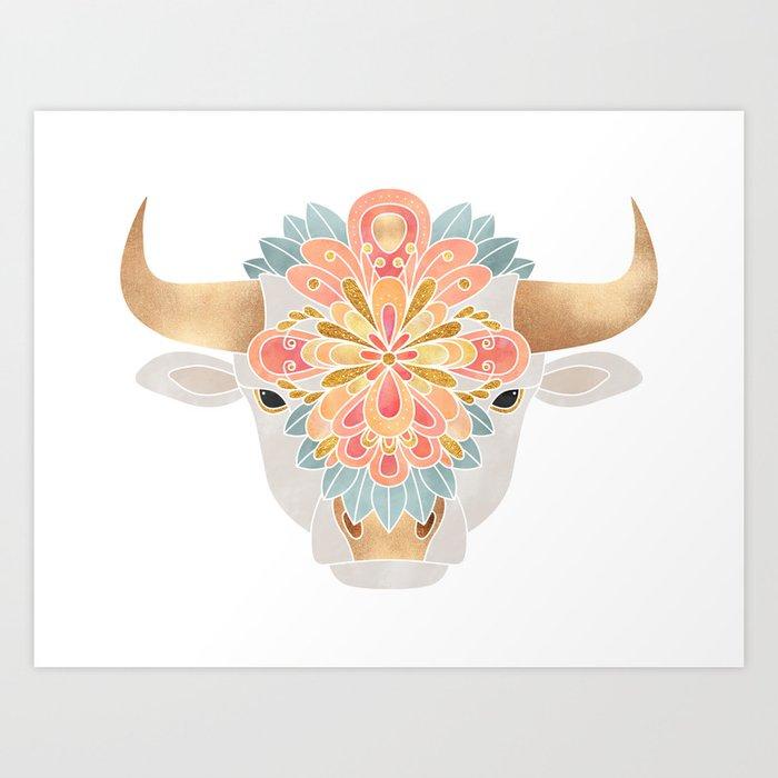 Flower Bull 2