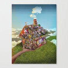 HOUSE Canvas Print