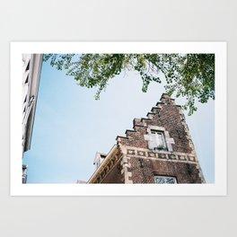 maastricht roof Art Print