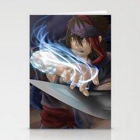 aladdin Stationery Cards featuring Aladdin by Kolshio