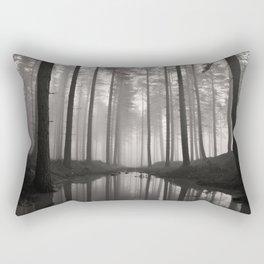 Mist reflected. Rectangular Pillow
