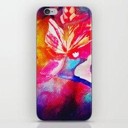 Abstract fall foliage iPhone Skin