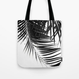 Palm Leaves Black & White Vibes #1 #tropical #decor #art #society6 Tote Bag