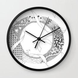 """Zenletter """"O"""" Wall Clock"""