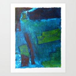 Harborscape Art Print
