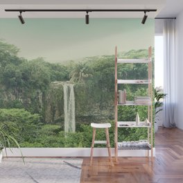 Green Paradise Wall Mural