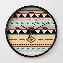 Aztec Pattern No. 18 Wall Clock