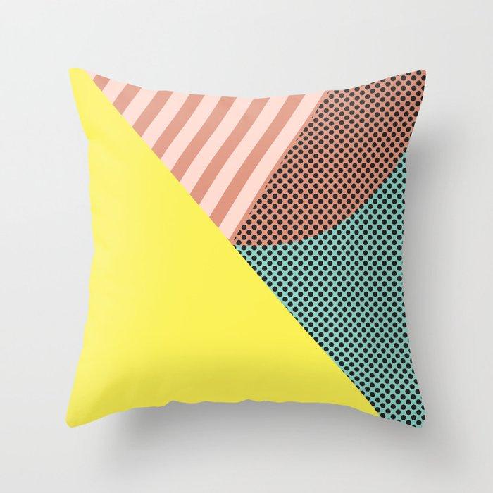 Minimal Complexity v.2 Throw Pillow