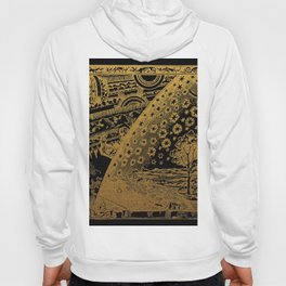 Antique Astronomy Illustration Hoody