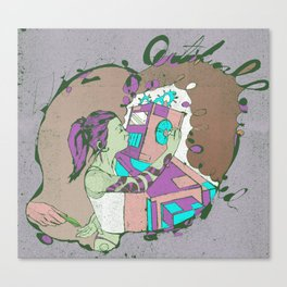 Artificial Love Canvas Print