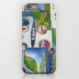 Suburban Maze iPhone Case