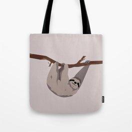 Sloth just hangin' Tote Bag
