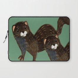 Shy European Mink Laptop Sleeve