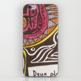 L'HUMANITE CE FLEAU  iPhone Skin