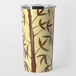 Gold Bamboo Trees Travel Mug