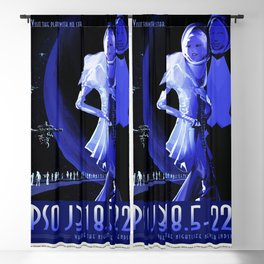 PSO J318.5-22 - NASA Space Travel Poster (Alt) Blackout Curtain