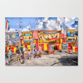 The Strangest Show on Earth,  2013 Canvas Print