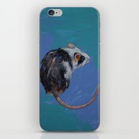 mouse iPhone & iPod Skins featuring Mouse by Michael Creese