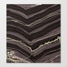Burnout At Chevron Canvas Print