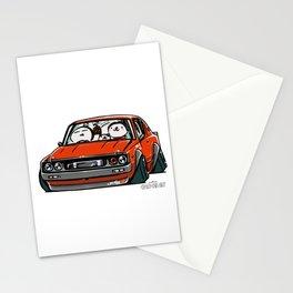 Crazy Car Art 0147 Stationery Cards