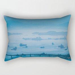 Cloudy bay - Rio - photo series Rectangular Pillow