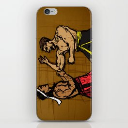 you fought with inspiration iPhone Skin
