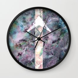 Tell Me Where To Go Wall Clock
