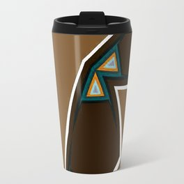 Brown Zags Travel Mug
