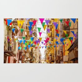 Naples, Italy Rug