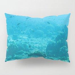 Watercolor Seascape, Bonaire 16, Dutch West Indies Pillow Sham