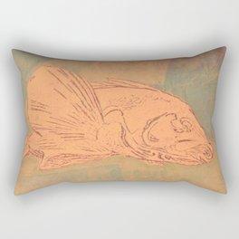Pale Fish Rectangular Pillow