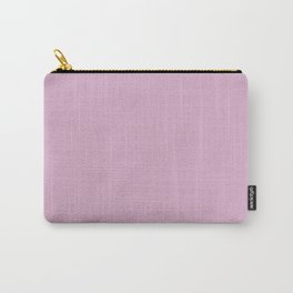 Spring Lavender, Solid Color Collection Carry-All Pouch