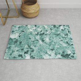 Mint Green Crystal Marble Rug