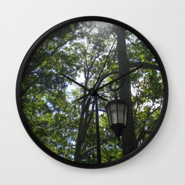 Lamppost, Wellesley College Wall Clock
