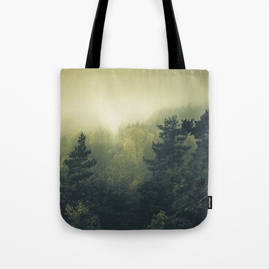 Forests never sleep Tote Bag