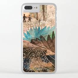 spells of the forest Clear iPhone Case