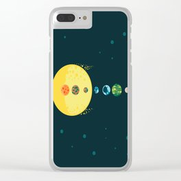 Trappist System Clear iPhone Case