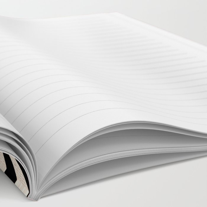 Chevron Flora Notebook